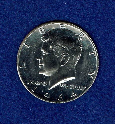 Kennedy 1964 Proof Half Dollar