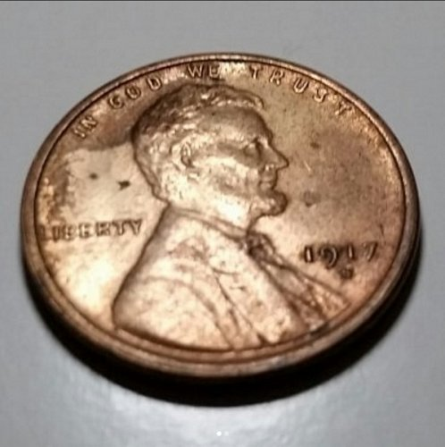 1917 S Wheat Penny