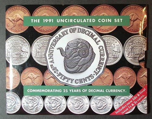 1991 Australia Mint Set