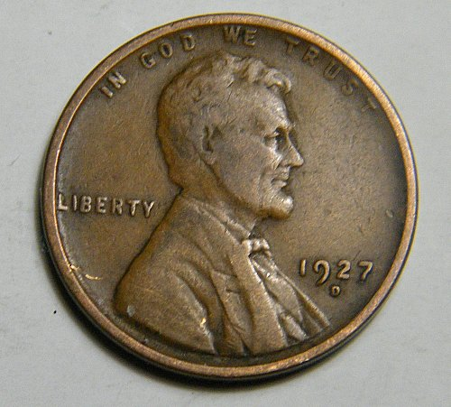 1927 D Lincoln Wheat Cent c24