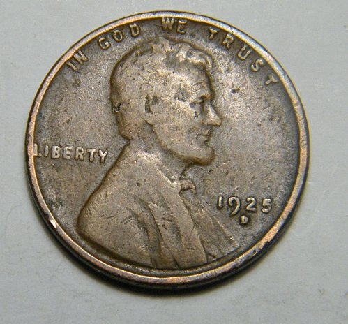 1925 D Lincoln Wheat Cent  E4