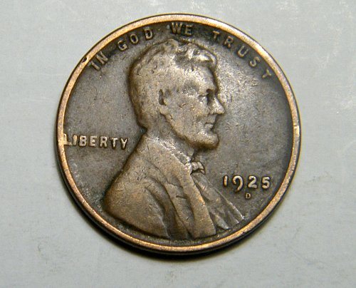 1925 D Lincoln Wheat Cent  E5