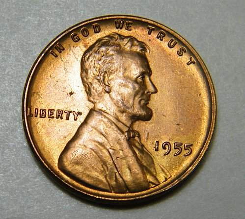 1955 P Lincoln Wheat Cent M3