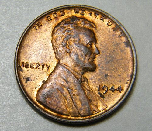 1944 P Lincoln Wheat Cent m8
