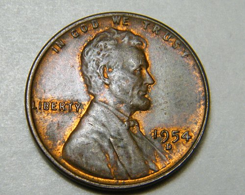 1954 D Lincoln Wheat Cent m10