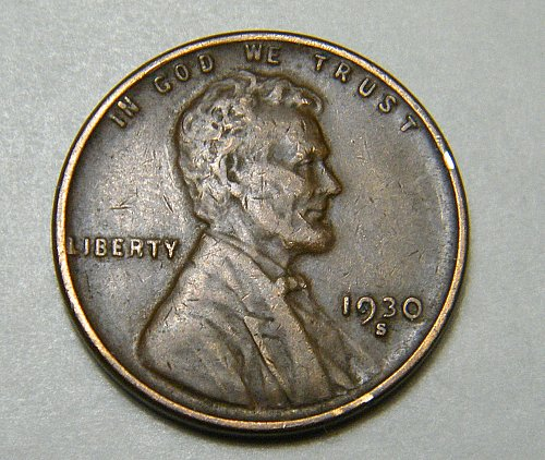 1930 D Lincoln Wheat Cent m13