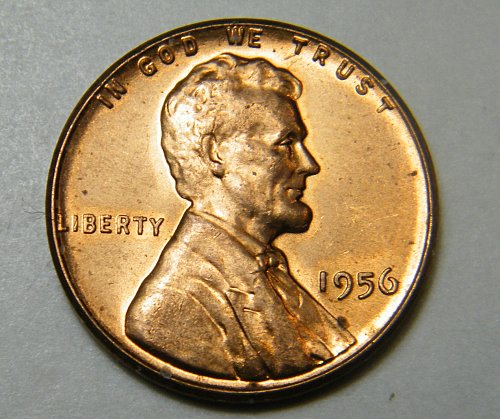 1956 P Lincoln Wheat Cent m16