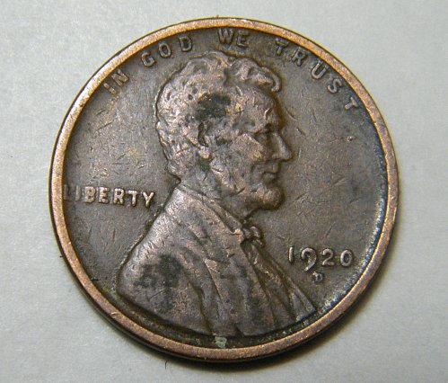 1920 D Lincoln Wheat Cent m17