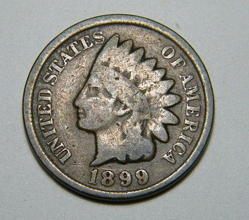 1899  Indian Head Cent C7