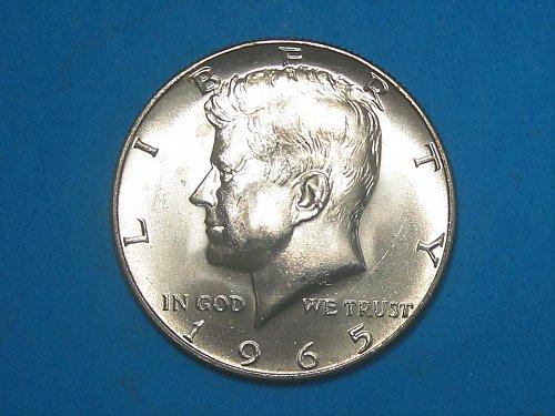 1965 Kennedy  Half Dollar ** Sharp BU Gem