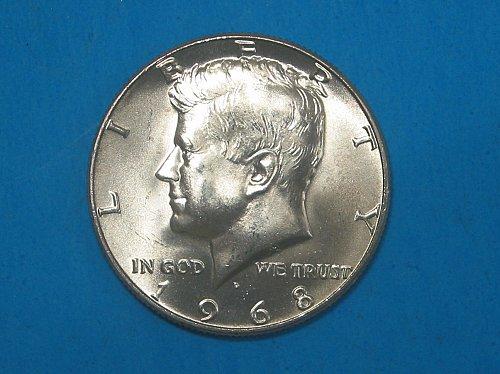 1968-D Kennedy  Half Dollar ** Sharp BU Gem