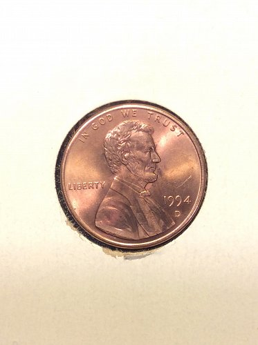 1994 D Lincoln Cent