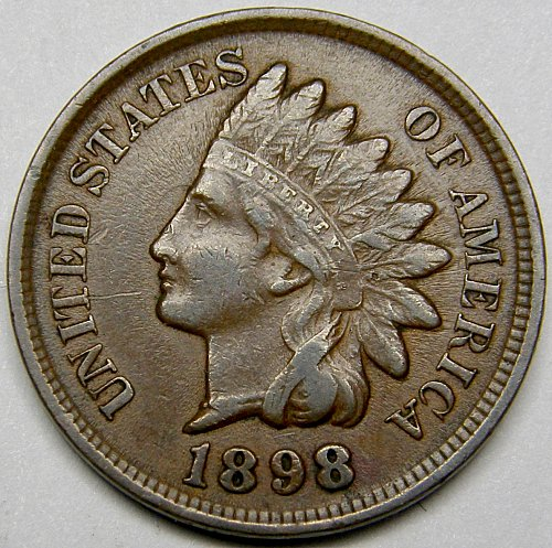 1898 Indian Head Cent #13