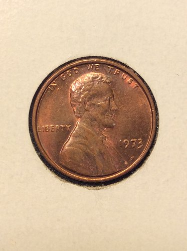 1973 P Lincoln Cent