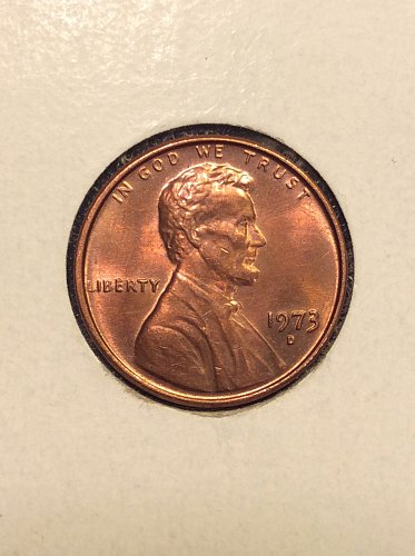 1973 D Lincoln Cent