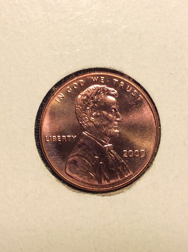 2009 P Lincoln Cent: Professional Life