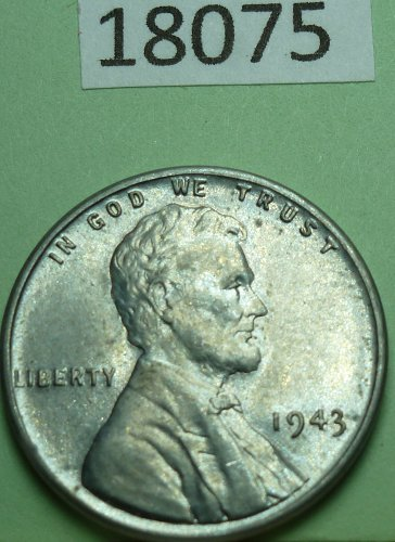 1943 P BU Lincoln Wheat Cent