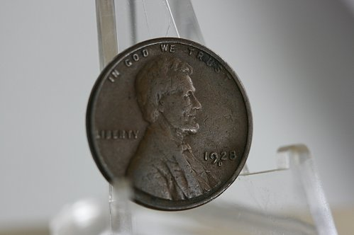 1928 D lincoln Cent