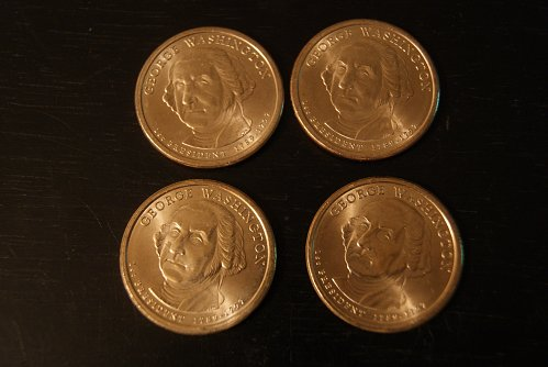2007 George Washington Dollar Coins, Missing Edge Lettering