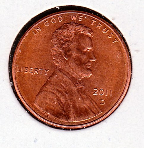 2011 D Lincoln Shield Cent Small Cents -5