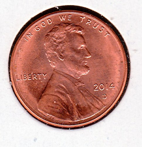 2014 D Lincoln Shield Cent Small Cents -5