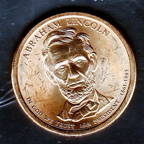 2010 D Presidential Dollars: Abraham Lincoln -6