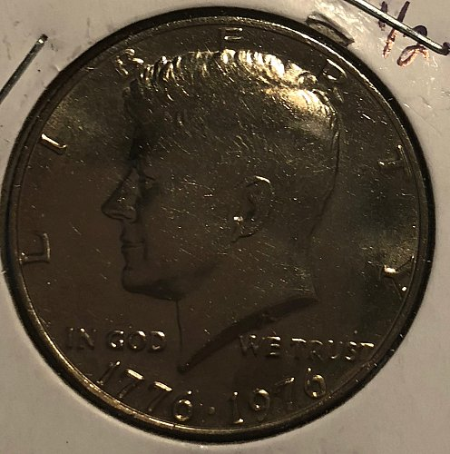 1976 P Kennedy Half Dollars