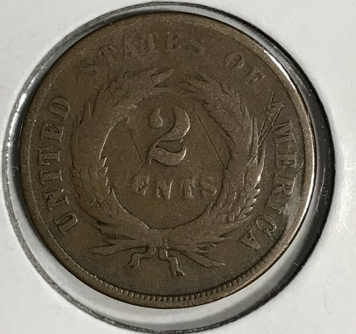 1865 P Two Cents