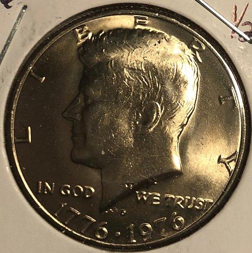 1976 D Kennedy Half Dollars