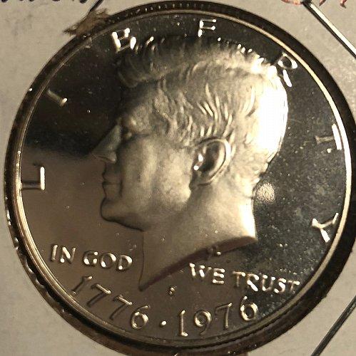 1976 S Kennedy Half Dollars: 40% Silver