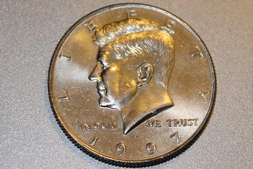 1997 D jfk half dollar