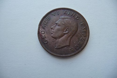 1942 New Zealand Penny