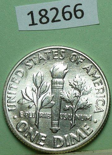 GEM BU MS Quality 1946-P Roosevelt Dime. High Quality