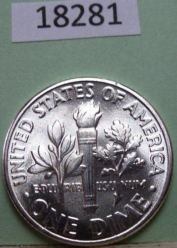 GEM BU MS Quality 1951-P Roosevelt Silver Dime. High Quality