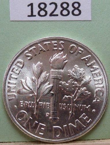 GEM BU MS Quality 1953-D Roosevelt Silver Dime. High Quality