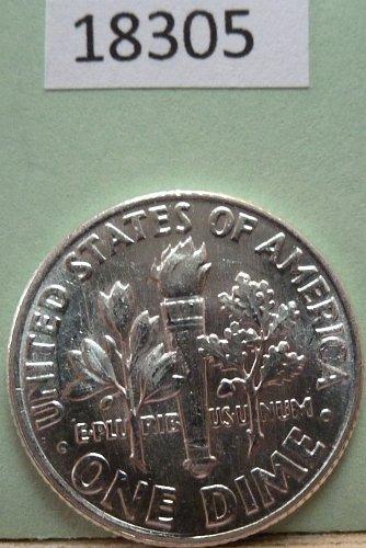 GEM BU MS Quality 1962-P Roosevelt Silver Dime. High Quality