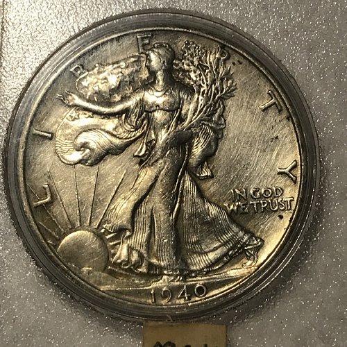 1940 S Whitman Coin Set