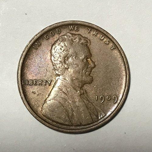 1909 P Lincoln Wheat Cent