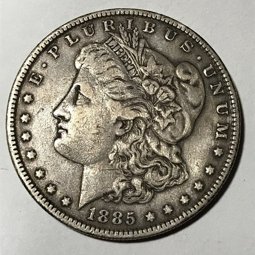 1885 P Morgan Dollar