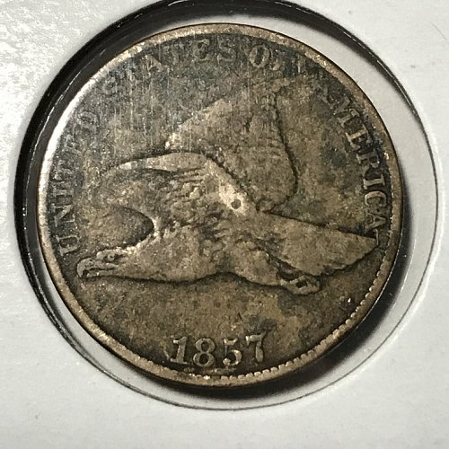 1857 Flying Eagle Small Cent