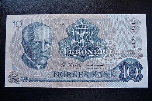 1974 Sweden  Norges Bank