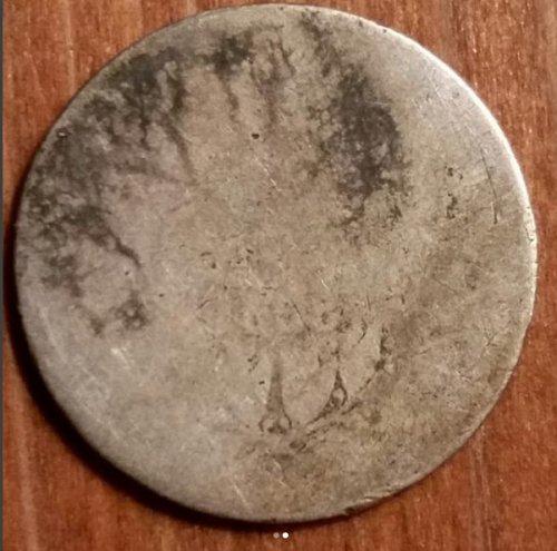 1858 1 Franc (France) (Sliver)