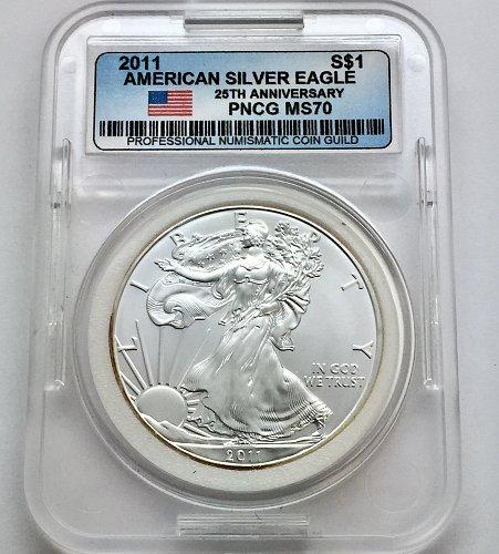 2011 American Silver Eagle - 25th Anniversary