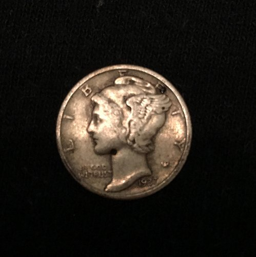 1937 P Mercury Dime - pretty good quality but not officially graded