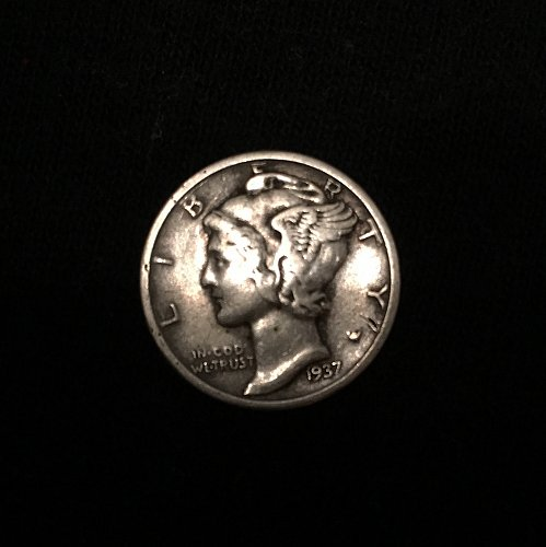 1937 S Mercury Dime - pretty good quality but not officially graded