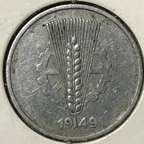 1949 A Germany 10 Pfennig