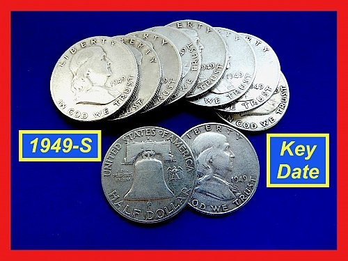 1949-S ☆ KEY DATE ☆ Circulated   (#1001)a