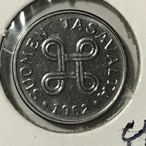 1962 Finland 1 Markka