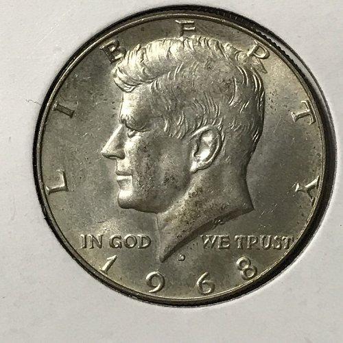 1968 D Kennedy Half