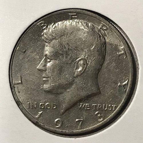 1973 P Kennedy Half Dollar